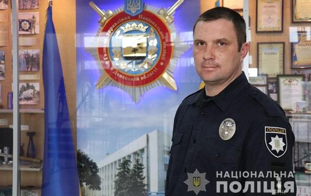 На Донбасі поліцейський врятував дітей, які тонули