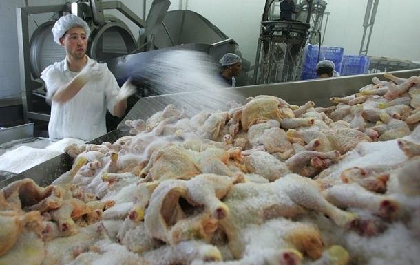 Украина в топ-тройке поставщиков курятины в ЕС
