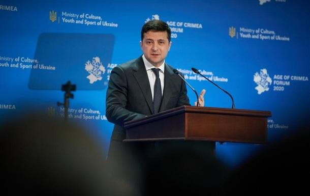 Зеленский подписал указ о Дне сопротивления оккупации Крыма