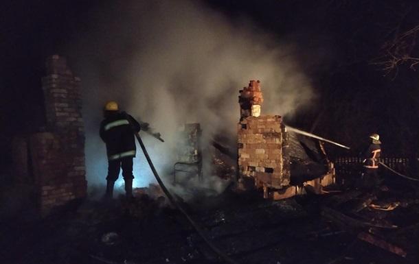 На Волыни при пожаре погибли два ребенка