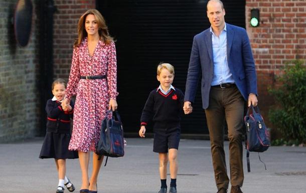 В школе, где учатся дети принца Уильяма, подозревают коронавирус