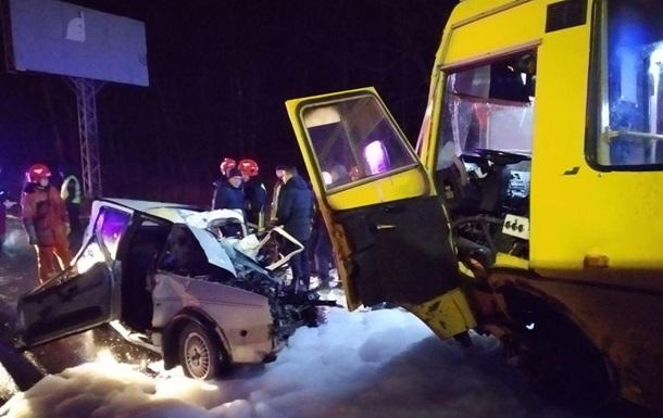На Львовщине произошло смертельное ДТП с участием маршрутки