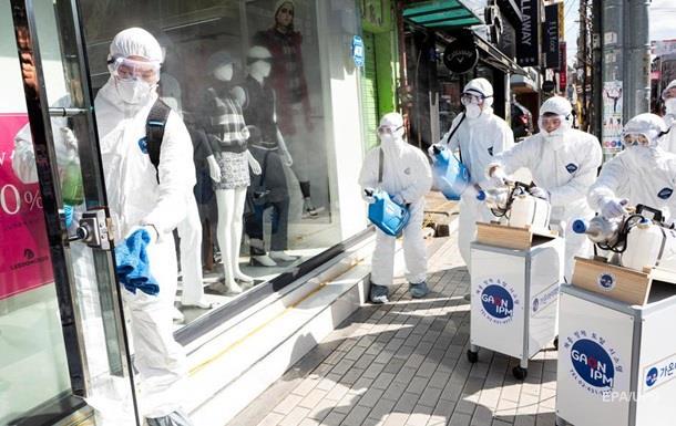 В Южной Корее рекордный прирост зараженных коронавирусом