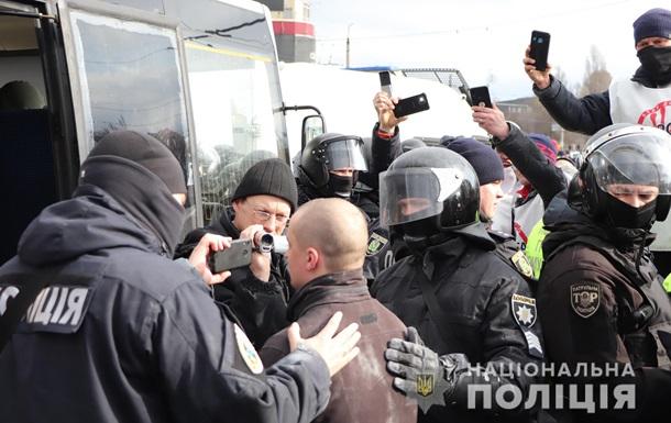 В Харькове число задержанных на рынке превысило 50 человек