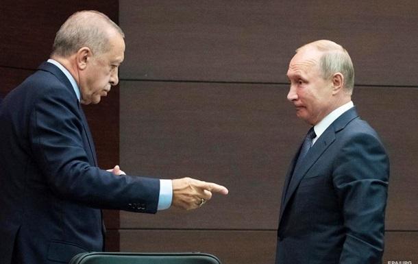 Эрдоган позвонил Путину после эскалации в Идлибе