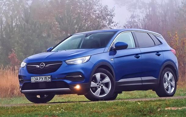 Тест-драйв Opel Grandland X