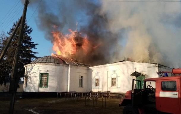 У Чернігівській області сталася пожежа в монастирі