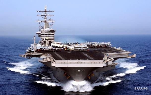 Американский авианосец вошел в Средиземное море