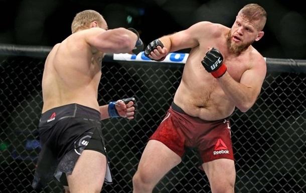 Украинец Спивак проиграл Тыбуре на турнире UFC Fight Night 169