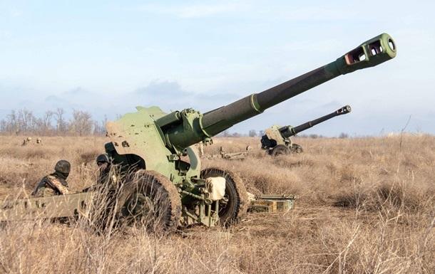 Сутки на Донбассе: один погибший, семь раненых