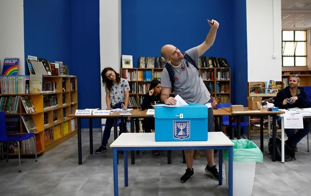 В Ізраїлі проходять треті парламентські вибори за рік