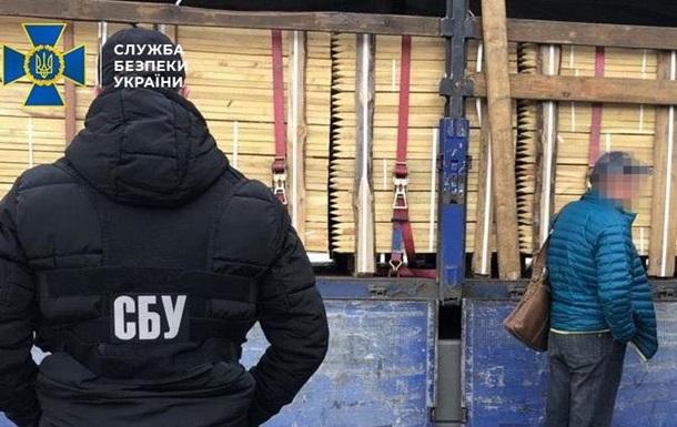 Из Киева пытались контрабандой вывезти древесину на $200 тыс - СБУ