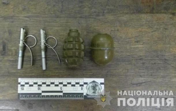 В Харькове в метро задержали мужчину с гранатами