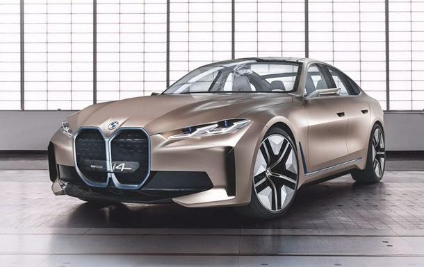 Представлен главный конкурент Tesla BMW i4
