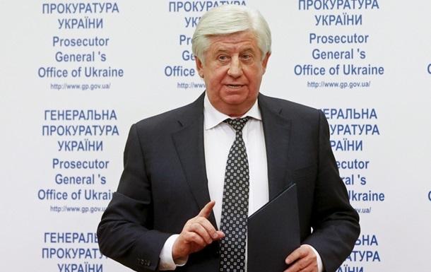 Справу про замах на екс-генпрокурора Шокіна закрили