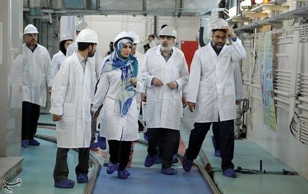 Іран уп ятеро перевищив встановлений ліміт запасів збагаченого урану