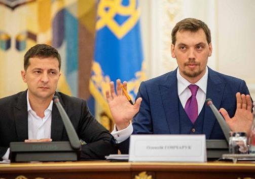 Архитектура внешнего управления Украиной