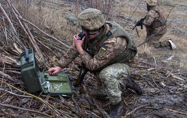 На Донбассе военный получил тяжелое ранение
