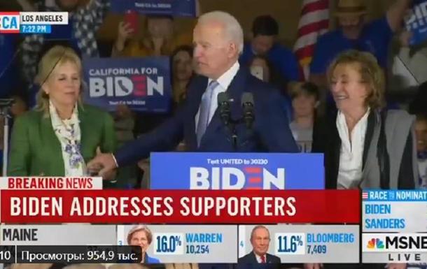 Джо Байден перепутал жену с сестрой перед публикой