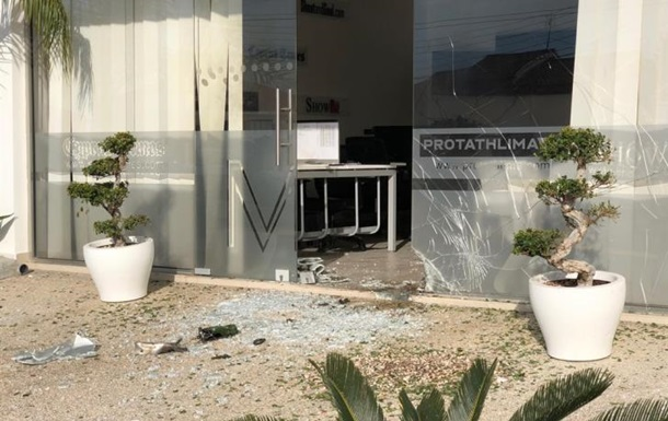 На Кіпрі прогримів вибух біля входу в редакцію інтернет-видання
