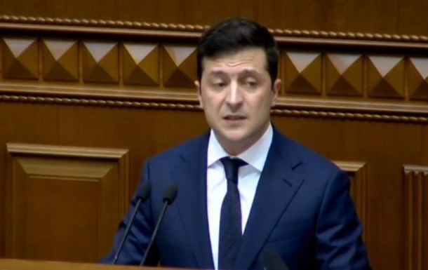 Зеленский озвучил претензии к Кабмину Гончарука