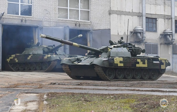 ВСУ получили партию модернизированных танков Т-72