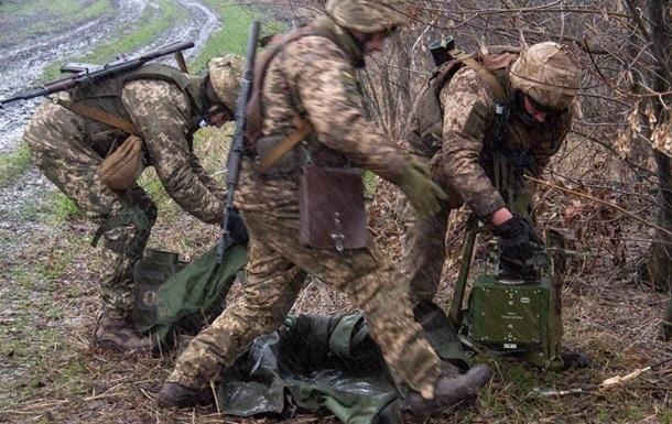 Сепаратисты за сутки выпустили почти 30 мин