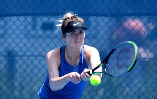 Свитолина снялась с парного турнира в Монтеррее