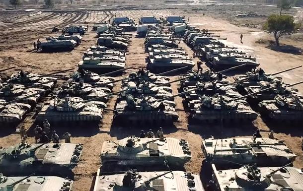 Расположение бригады ВСУ сняли с дрона
