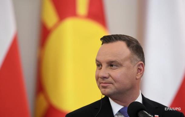 Президент Польши анонсировал визит в Украину