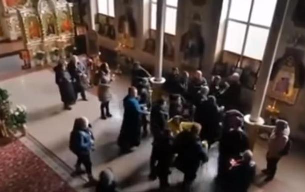 В Одессе подрались священники в церкви