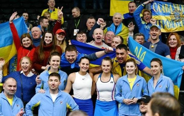 Украина готова провести матч Кубка Федерации против Японии на своей территории из-за коронавируса