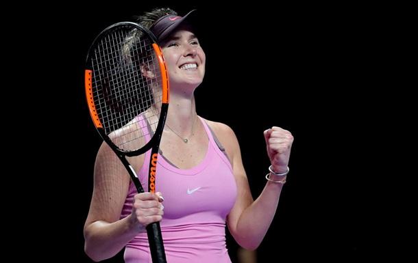 Свитолина пробилась в полуфинал турнира WTA в Монтеррее