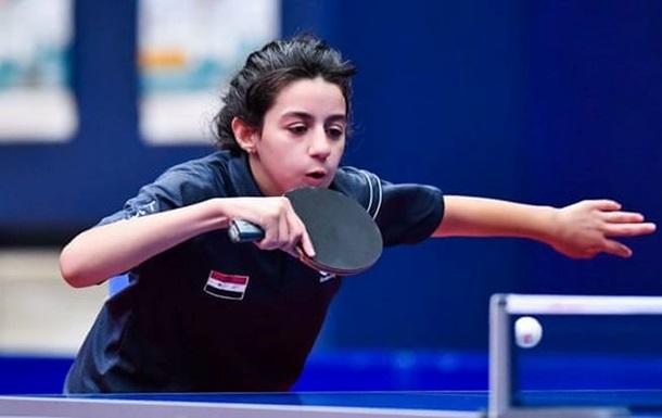Теннисистка из Сирии в 11 лет квалифицировалась на Олимпиаду в Токио