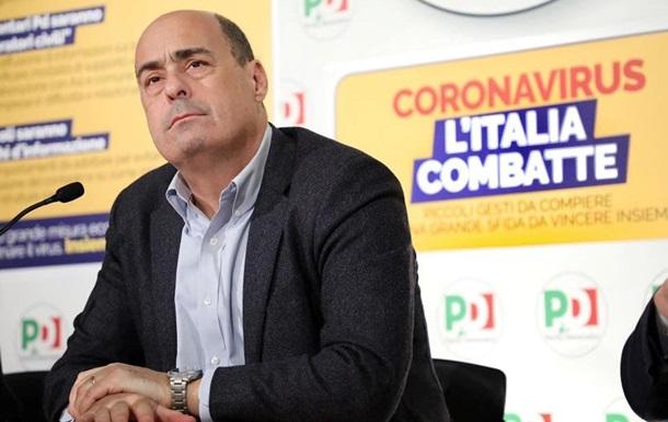 Лидер итальянской Демпартии заразился коронавирусом