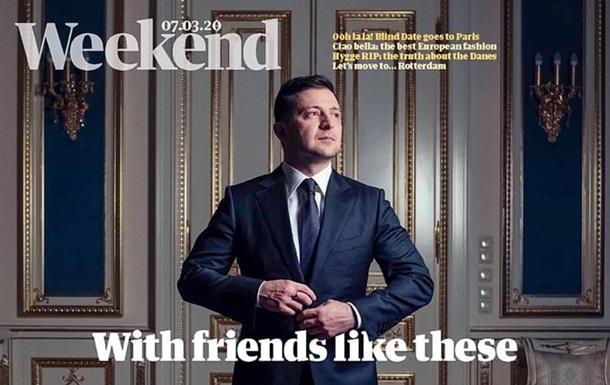 Зеленский попал на обложку The Guardian