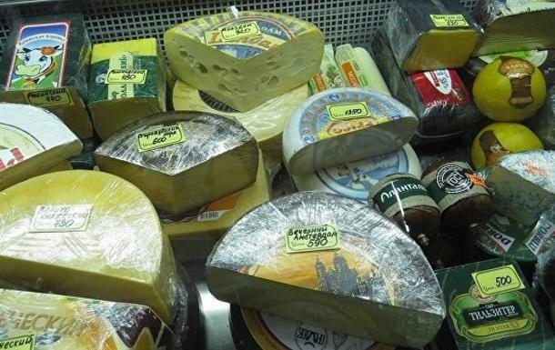 В Крыму сожгли 600 килограммов сала и сыра