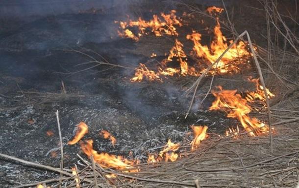 На Донбассе из-за обстрела сгорел пункт ВСУ