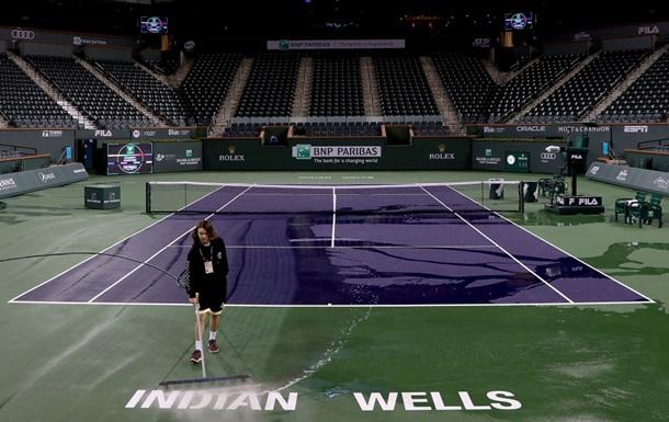 Великий тенісний турнір в Індіан-Уеллсі скасований через коронавірус