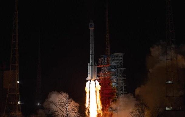 Китай вывел на орбиту навигационный спутник