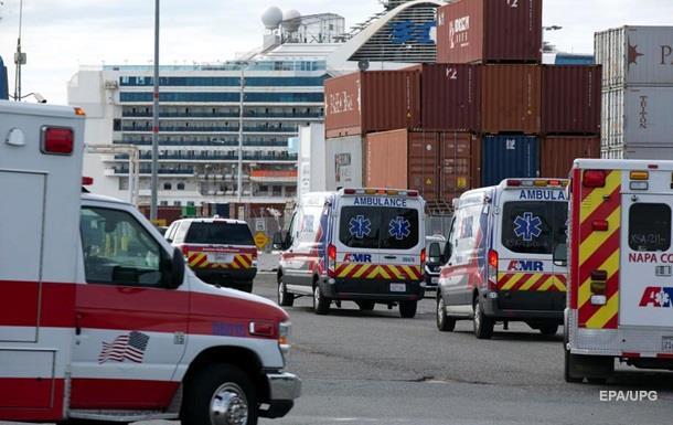 Пассажиры Grand Princess начали сходить на берег в США