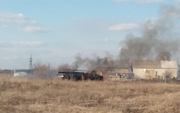 На Донбассе снова подбили грузовик с военными