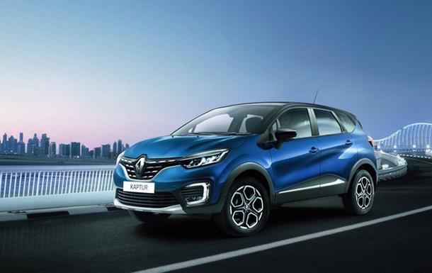 Renault анонсировал обновленный Kaptur