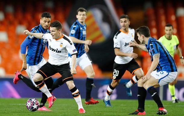 Аталанта впервые в истории прошла в четвертьфинал Лиги чемпионов