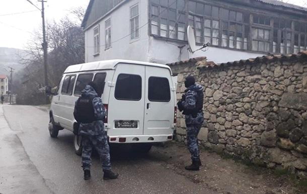 Обыски в Бахчисарае: задержаны пять крымских татар