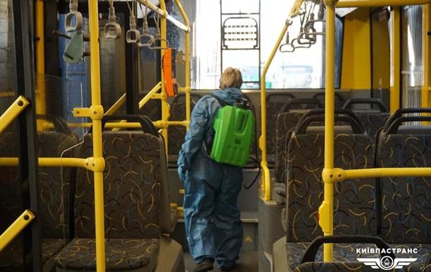 Власти Киева рассказали о работе общественного транспорта на время карантин