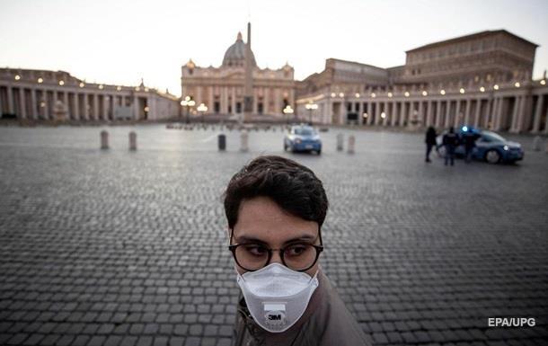 В Италии отмечено рекордно низкое число заражений
