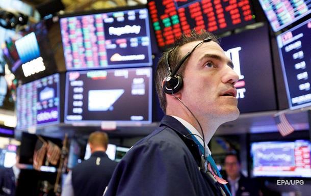 Биржи США рухнули второй раз за неделю