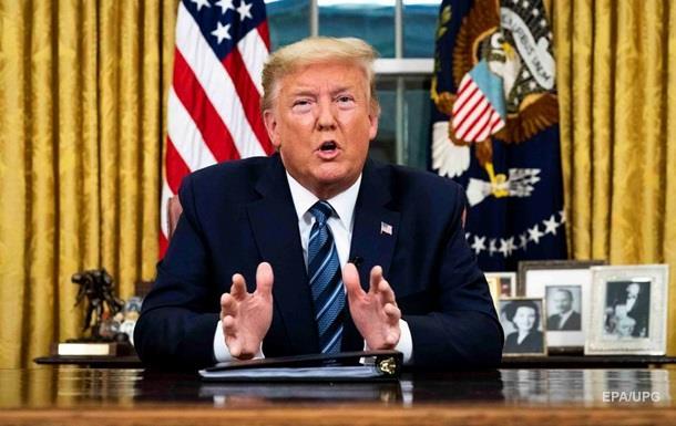 Трамп запретил въезд из Европы в США на 30 дней
