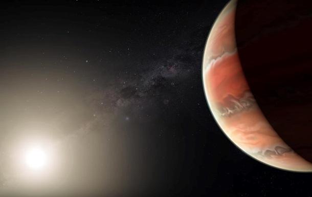 Знайдено планету з залізними дощами
